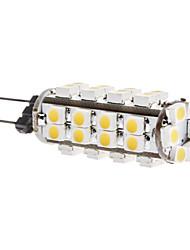 daiwl g4 2.5w SMD 38x3528 180-200lm 3000-3500K lumière blanche chaude conduit ampoule de maïs (12v)