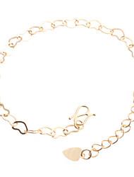 Women's Chain Bracelet 18K Gold Plated