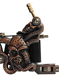 Empaistic 100% Handmade Tattoo Machine - Bronze Religion Head Frame
