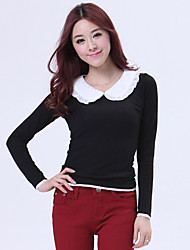 PRENAIR Sweet Pan Collar Slim Long Sleeve Jersey Shirt