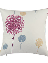 Country Colorful Ball Polyester Decorative Pillow Cover