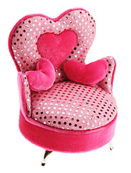 Sweet Heart Sofa Design Jewellery Storage Box Valentine Gift
