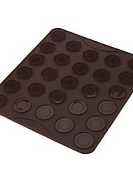 bicarbonate de bricolage petite taille 27 trous silicone macarons mat