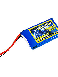 450mAh 7.4V/2S 50C Lipo battery for RC model