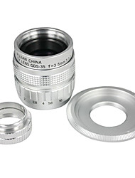 35mm f/1.7 Objectif CCTV pour NEX NEX3 NEX5 + monture C pour NEX + adaptateur Macro Ring