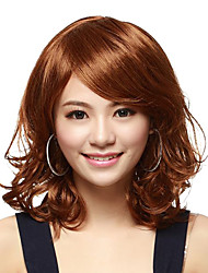 Capless Medium Brown High Quality Synthetic Wigs