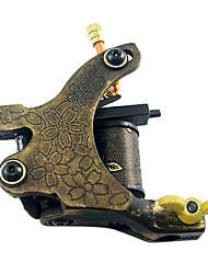 Colorful Cast Iron Tattoo Machine Gun for Liner