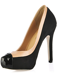 Simple Suede Stiletto Heel Pumps Party/Evening Shoes