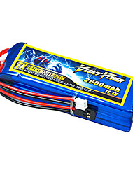 2600mAh 11.1V/3S 3C Lipo battery for RC model