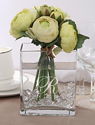 Table Centerpieces Personalized Simple Cuboid Glass Vase  Table Deocrations