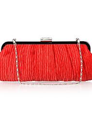 Очаровательная атласная сумочка с кристаллами вечер / муфты (другие цвета)