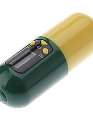 Cápsula LCD portátil Estilo Medicina temporizador Pill Reminder