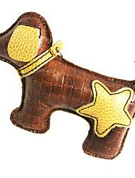 All Star Cuir de vache et le cœur Puppy Dog Toys Modèle de grincement de style
