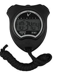 Black Shockproof Wearable Outdoor Stopwatch With Alarm Clock Function