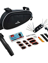 14-in-1 Folding Stainless Bicycle Repair Set with Tool Bag And Pump 21255