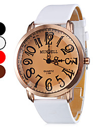 Women's Quartz Analog Bronze Case PU Band Wrist Watch (Assorted Colors) Cool Watches Unique Watches