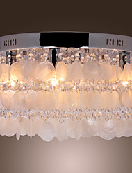 Crystal/Mini Style Flush Mount , Modern/Contemporary Living Room/Bedroom