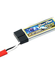 520mAh 15C 3.7V/1S bateria Lipo Lipo para o modelo de RC