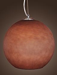 1 - Luz de techo de luz en la sombra en forma de bola