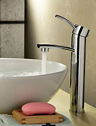 Bathroom Sink Faucet Contemporary Chrome Vessel