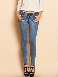 TS нуля мыть тощий низкие джинсы рост