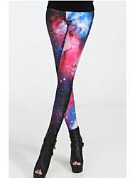 Women's Modern Magnificent Galaxy Legging(Waist:58-79cm  Bust:90-104cm  Length:95cm)