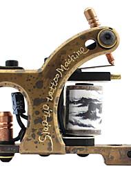Sculpture en laiton de haute qualité Tattoo Machine Gun