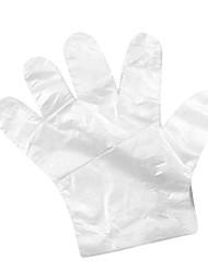 Disposable Transparent Plastic Gloves for Travel(45-Pack)