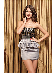 Bandeau femme Ruffles Skirt Suit