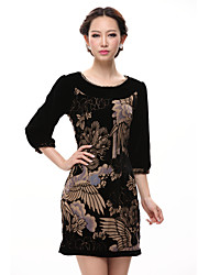 Damen High End  Silk Dress
