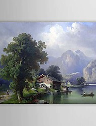 Hand Painted Oil Painting Landscape 1303-LS232