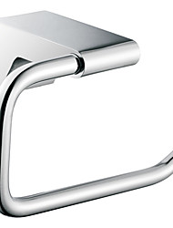 """Towel Ring Chrome Wall Mounted 153 x 73 x 85mm  (6.02 x 2.87 x 3.34"""") Brass Contemporary"""