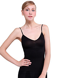 Chinlon encantador e Spandex Shapewear Vest / Camisole Casual
