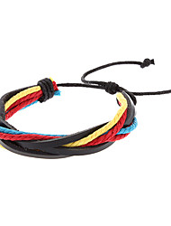 mannen multi-layer twist vorm mashup armband