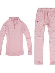 Langzuyoudang Women's Ultraviloet Resistant Fleece Two-pieces Suit (Top & Pants)