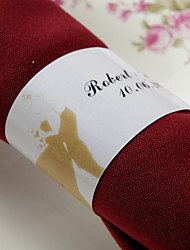 Personalized Paper Napkin Ring - Sakura (Set of 50)