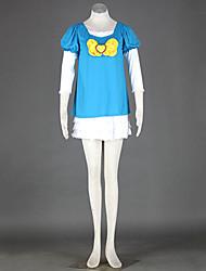 traje cosplay inspirado Heartcatch Precure! curar vestido casual marinha