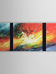 Dipinti a mano olio pittura astratta Set di 3 1303-AB0398