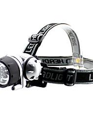 3 +2 LED Lampe frontale réglable ABS haute puissance pour le camping en plein air S200017