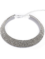 colar lindo colar de cristal para casamento / noite