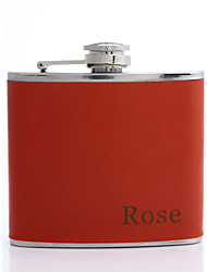Gift Groomsman /Bridesmaid Personalized 5-oz Flask (More Colors)