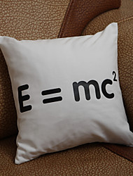 "Gifts Bridesmaid Gift ""E=MC2""Pillow Case (Pillow not included)"