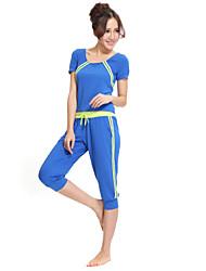 Dancewear Viscose Yoga Tanz Outfits oben und unten für Damen mehr Farben