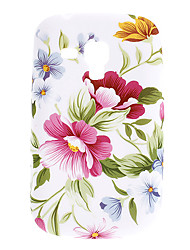 Flower Pattern TPU Soft Case for Samsung Galaxy Trend Duos S7562