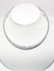 Double Row High Grade Crystal Necklace