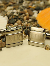 Gift Groomsman Personalized Cufflinks With Gift Box