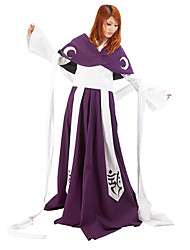 Inspired by Tsubasa Princess Tomoyo Anime Cosplay Costumes Cosplay Suits / Kimono Patchwork Purple Long SleeveCoat / Kimono Coat / Skirt