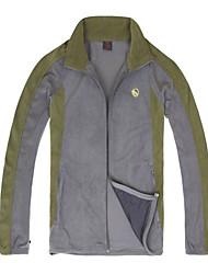 Langzuyoudang Men's Outdoor Windproof Fleece Jacket With Breathability