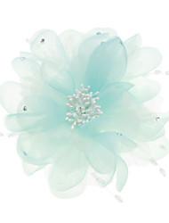Women's Imitation Pearl / Fabric Headpiece-Wedding / Special Occasion Fascinators / Flowers