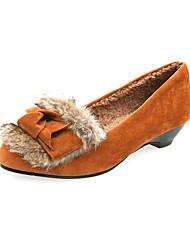 Suede Lage hak Loafers & Slip-ons met bont feest / avond schoenen (meer kleuren)